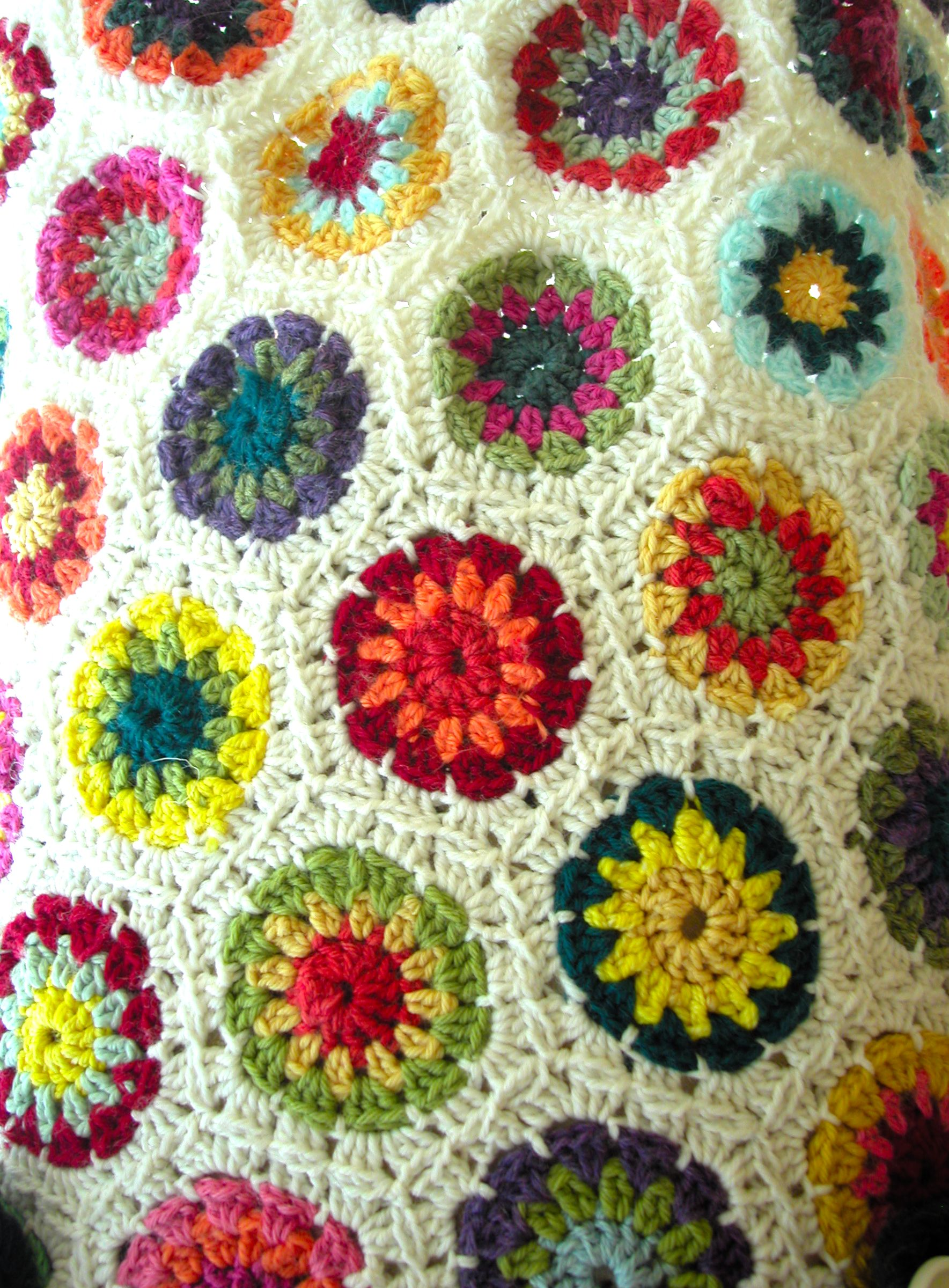 Crochet Blanket The Knit Cafe