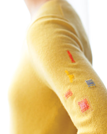 Sock Darning Tutorial photo