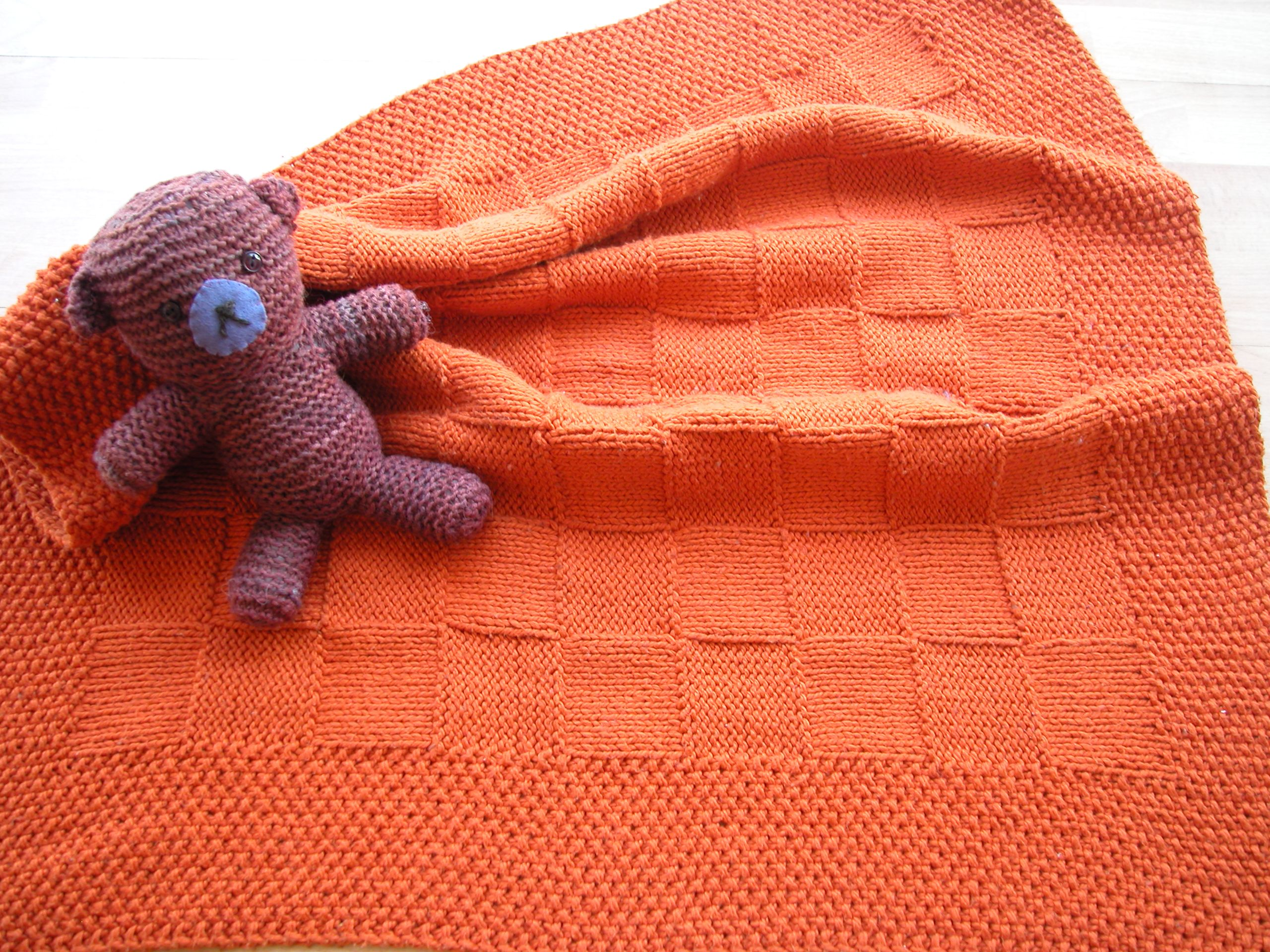 Knitting Patterns Baby Blankets For Beginners : August 2011 the knit cafe
