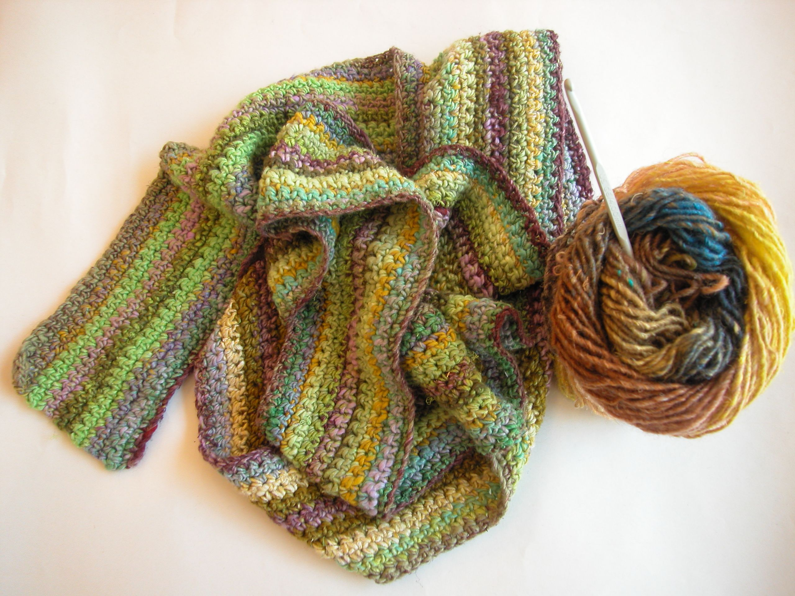 Crocheting Scarf : crochet scarf