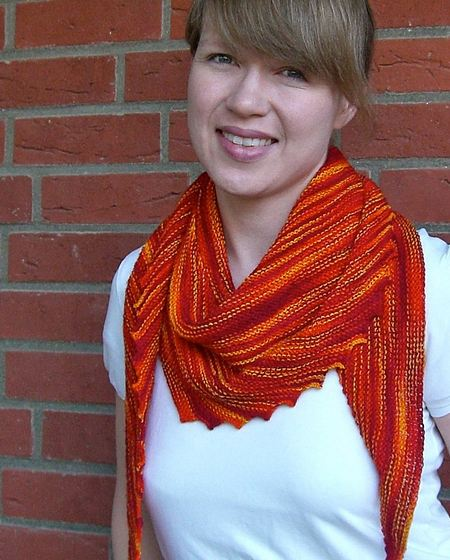 Knitting On The Bias Shawl Pattern : Hipster cowl knitting patterns the knit cafe
