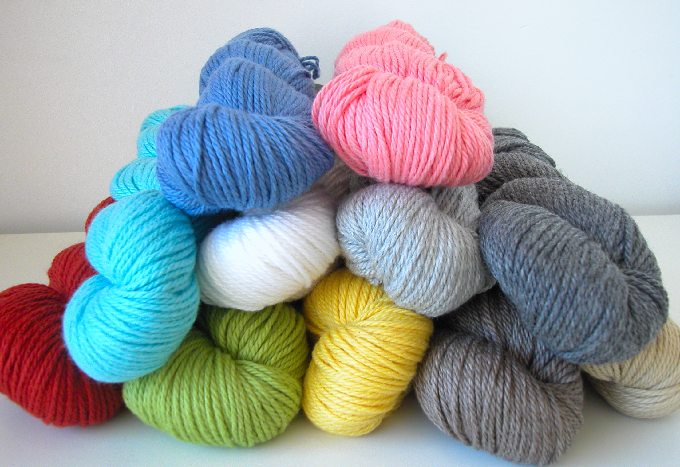Yarn Knitting : Knitting Needles And Yarn A brand new yarn to the knit