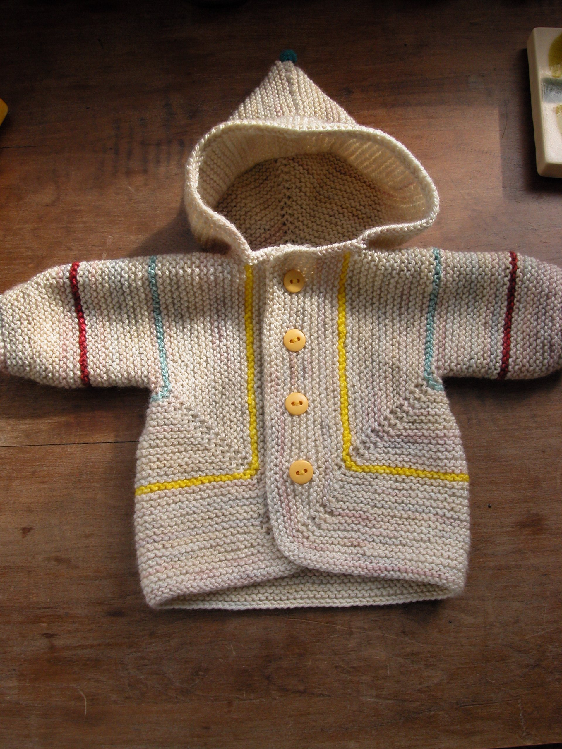 Crochet Surprise Jacket Free Pattern : baby surprise sweater the knit cafe