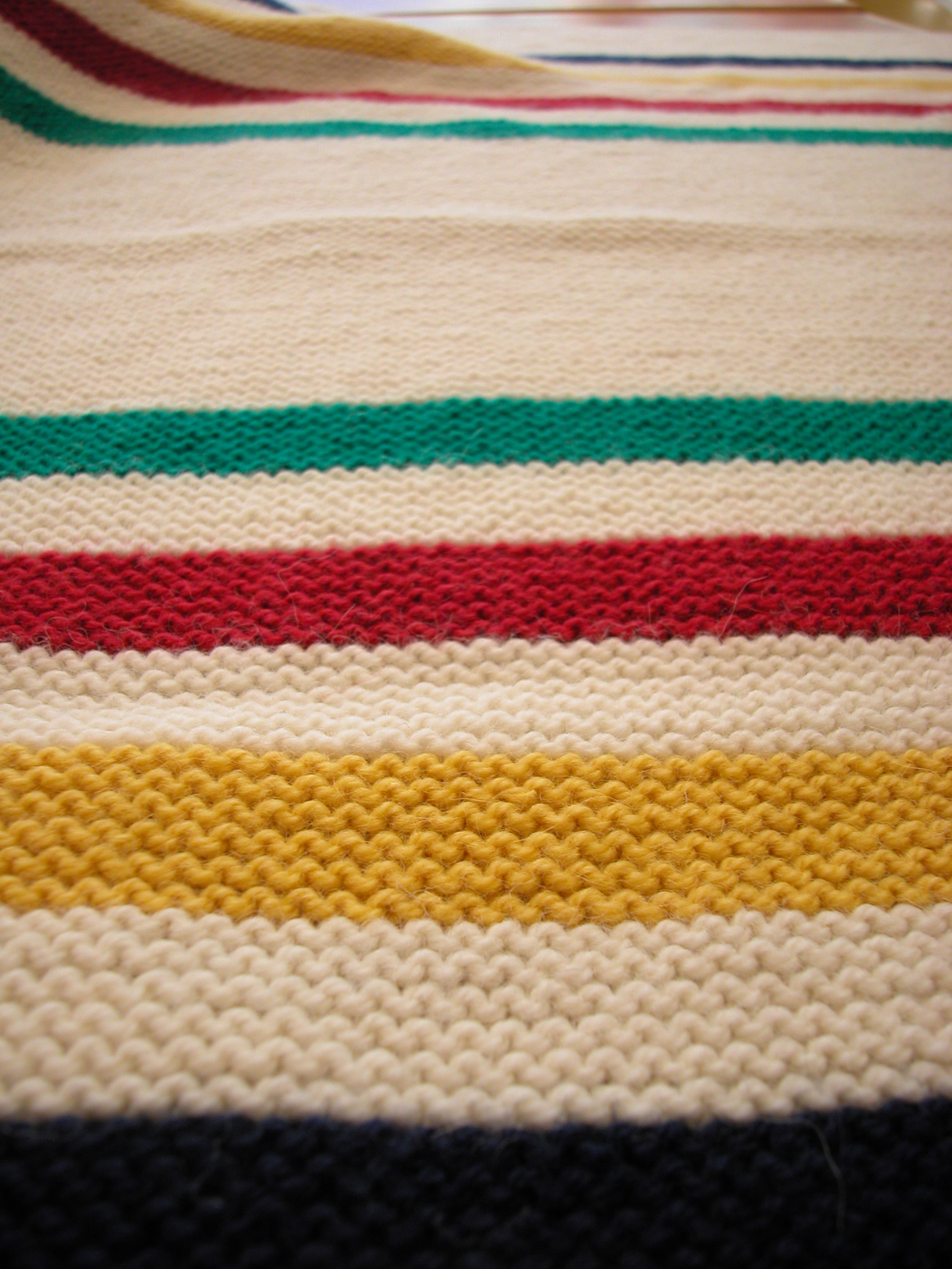 Knitting Pattern For Hudson Bay Blanket : On the Needles the knit cafe