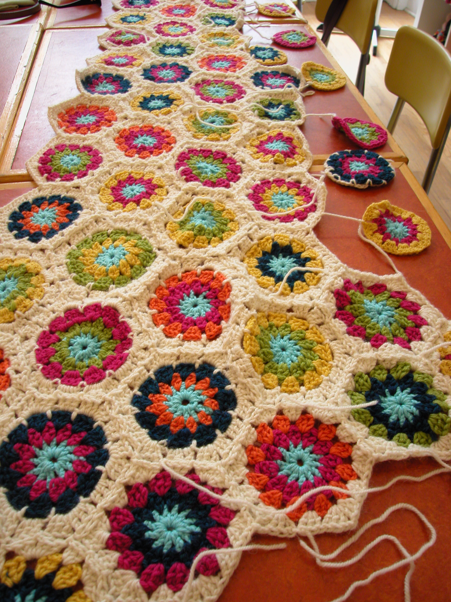 crochet blanket class the knit cafe