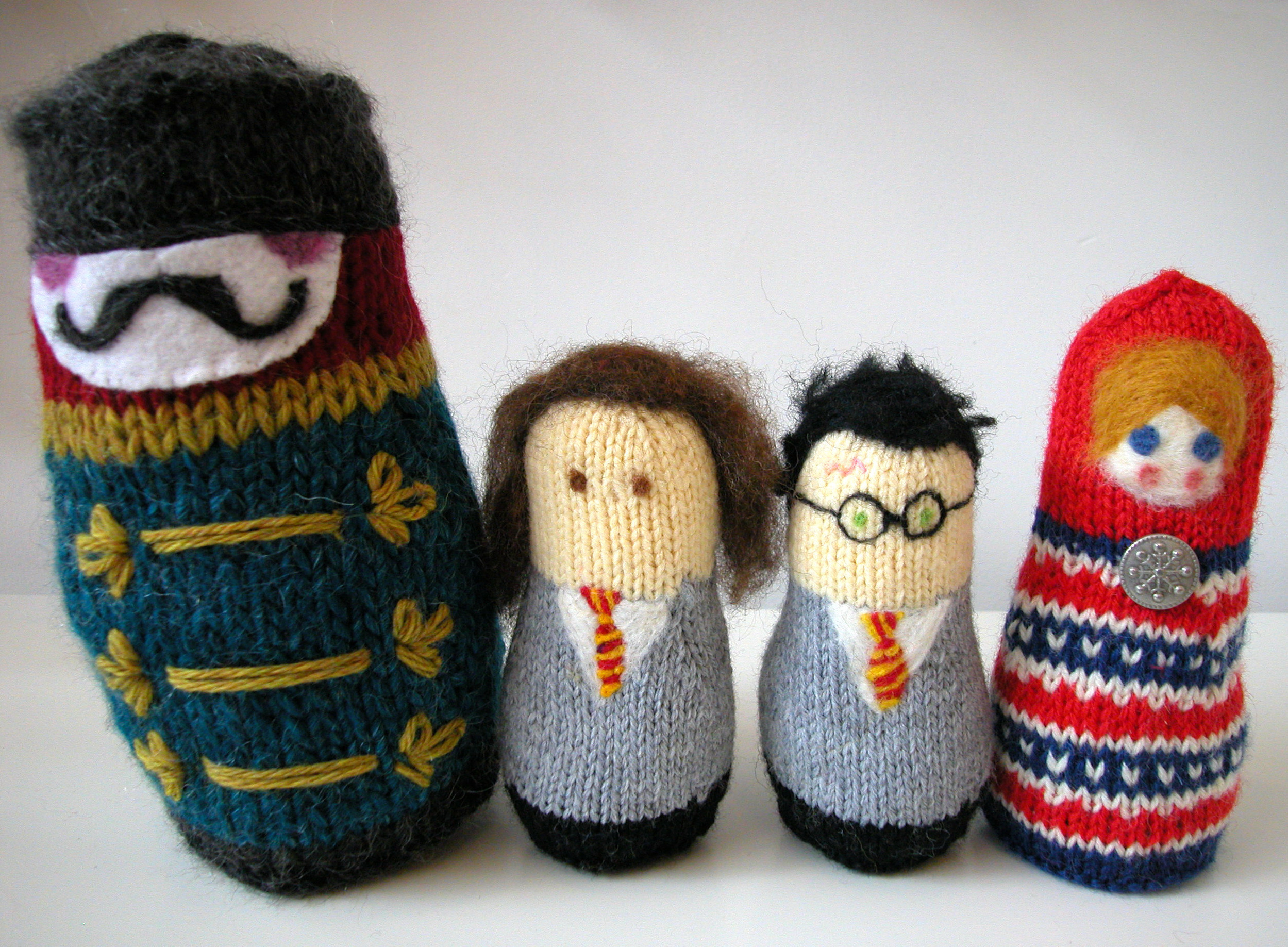 Knitting Pattern Russian Doll : russian nesting dolls the knit cafe