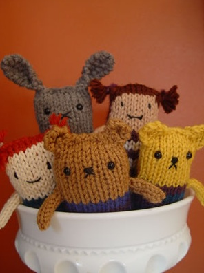 Easy Knitting Patterns Of Animals : crochet patterns the knit cafe