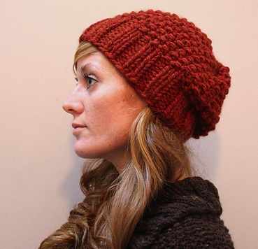 Free Knitting Pattern Hat Bulky Yarn : free knitting patterns the knit cafe