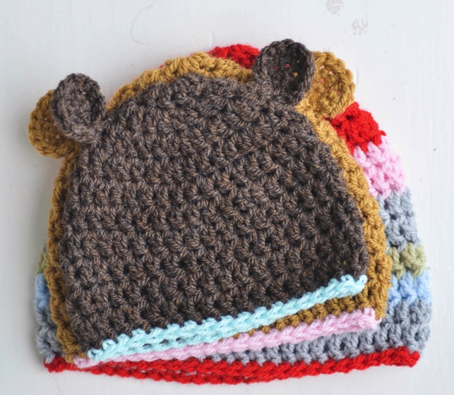 Newborn Hat With Ears Crochet Pattern : 301 Moved Permanently