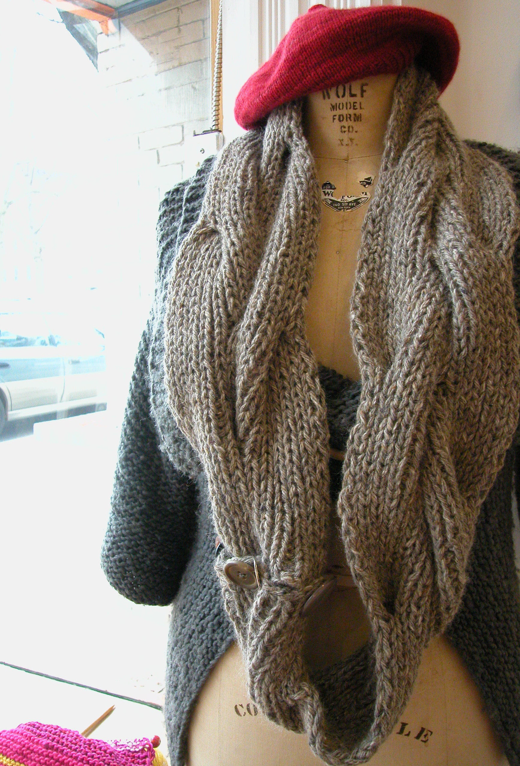 Cabled Cowl Knitting Pattern : free knitting patterns the knit cafe