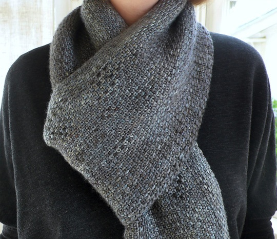 Boys Knit Scarf Pattern : 5 weeks till Christmas the knit cafe