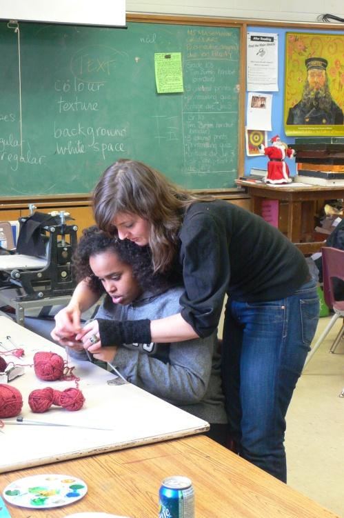 knit school