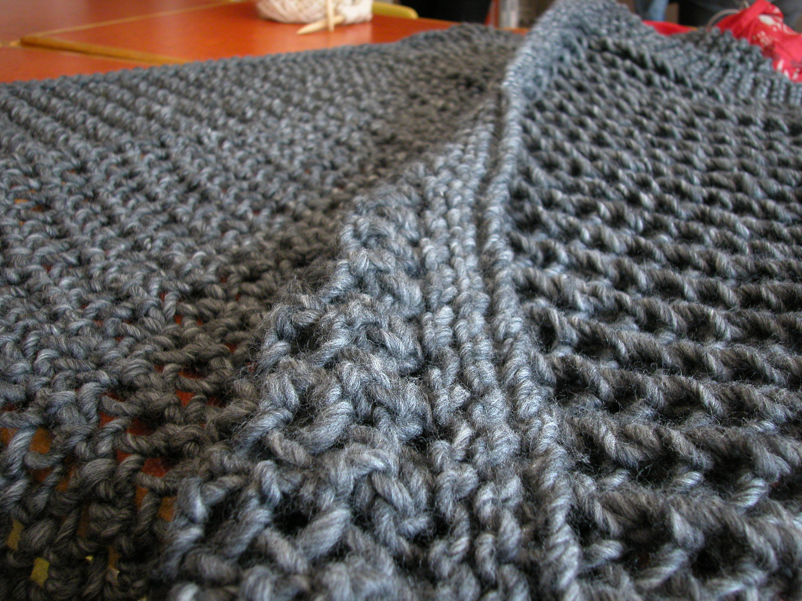 chunky knit blanket pattern the knit cafe