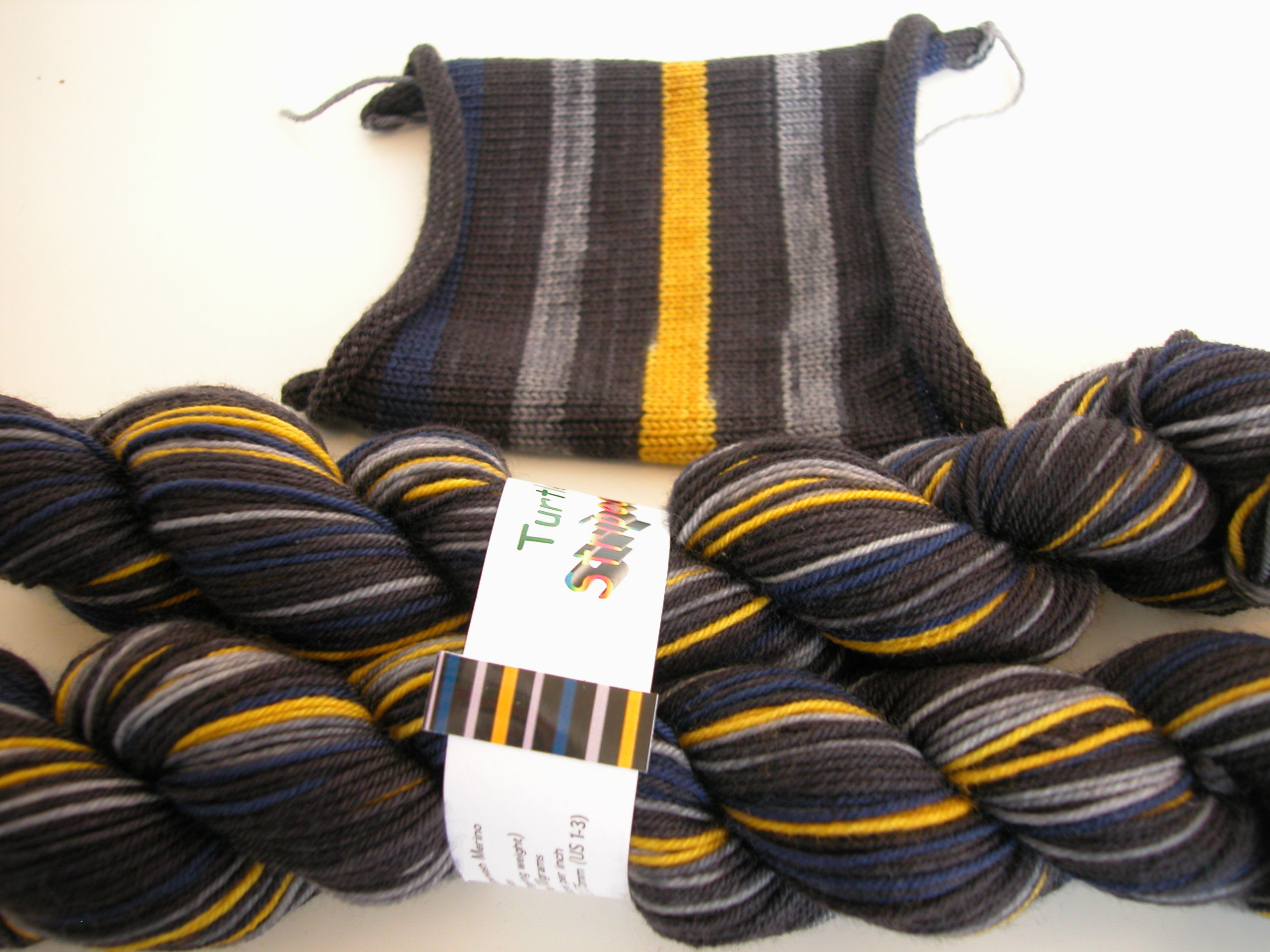 self striping sock yarn | the knit cafe