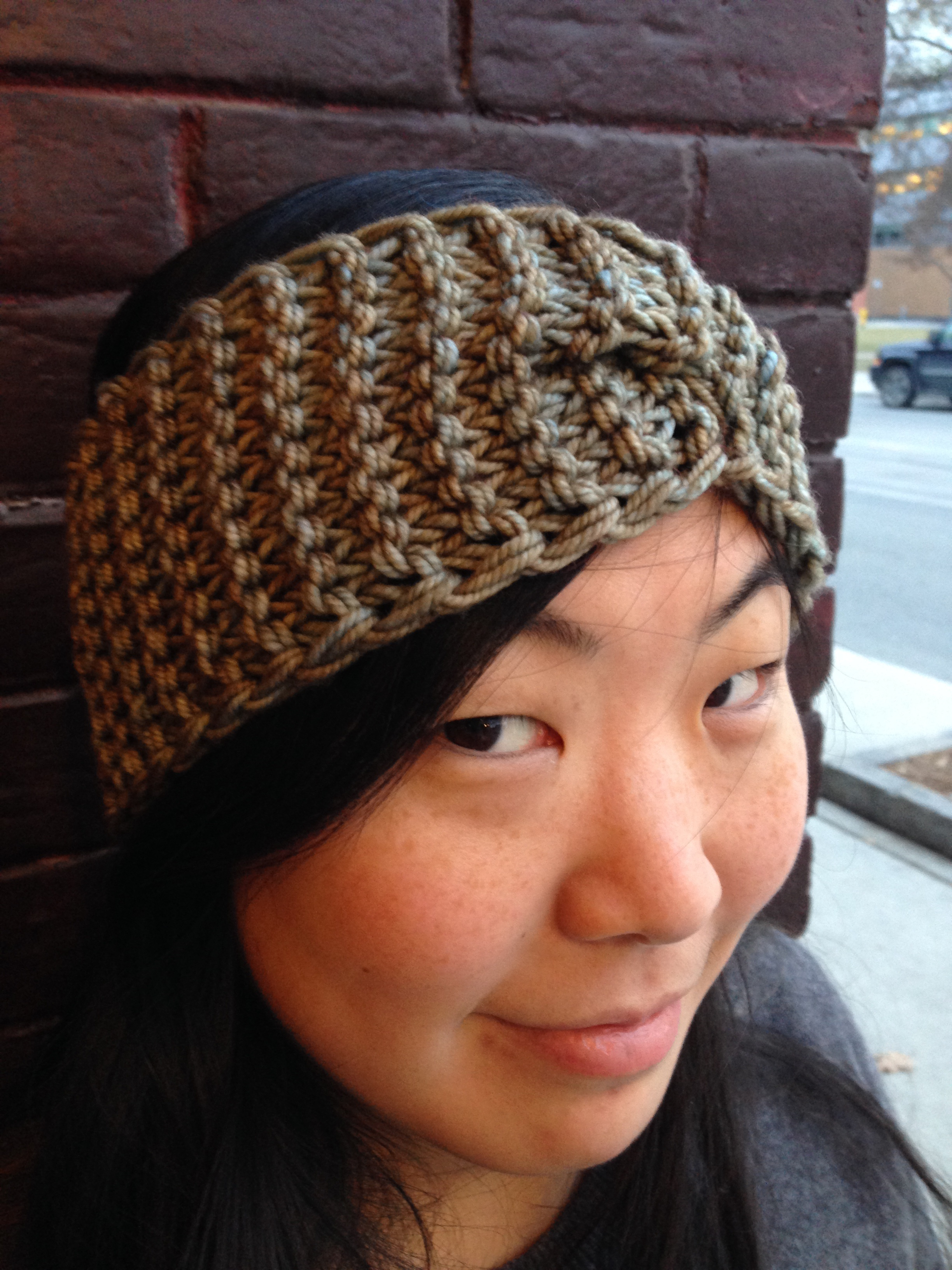 Free Knitting Pattern Chunky Headband : free headband pattern the knit cafe