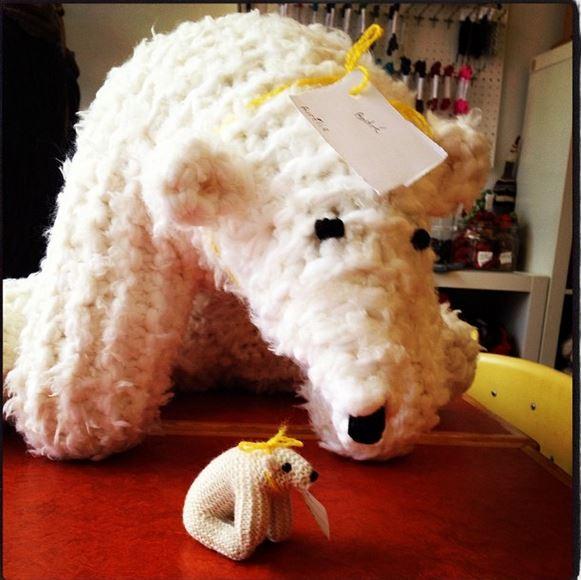 Polar Bear The Knit Cafe