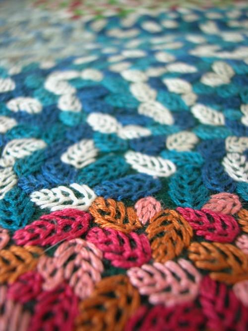 Embroidery by Hannah Oklaga