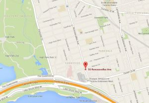 map to 55 Roncesvalles