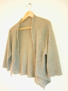 shibui linen sweater - lineal