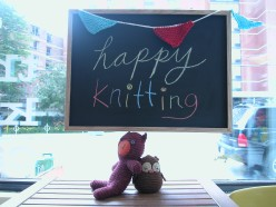 happy knitting window