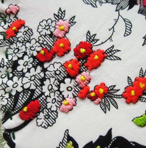 A stitch journal from RadishBlossoms