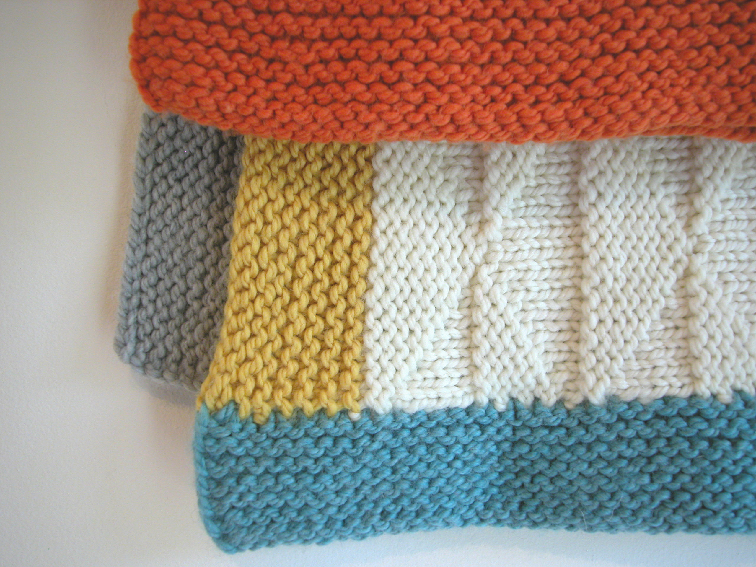 Tremblant baby blanket the knit cafe triangle blanket dt1010fo