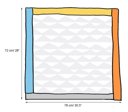 triangle blanket schematic crop