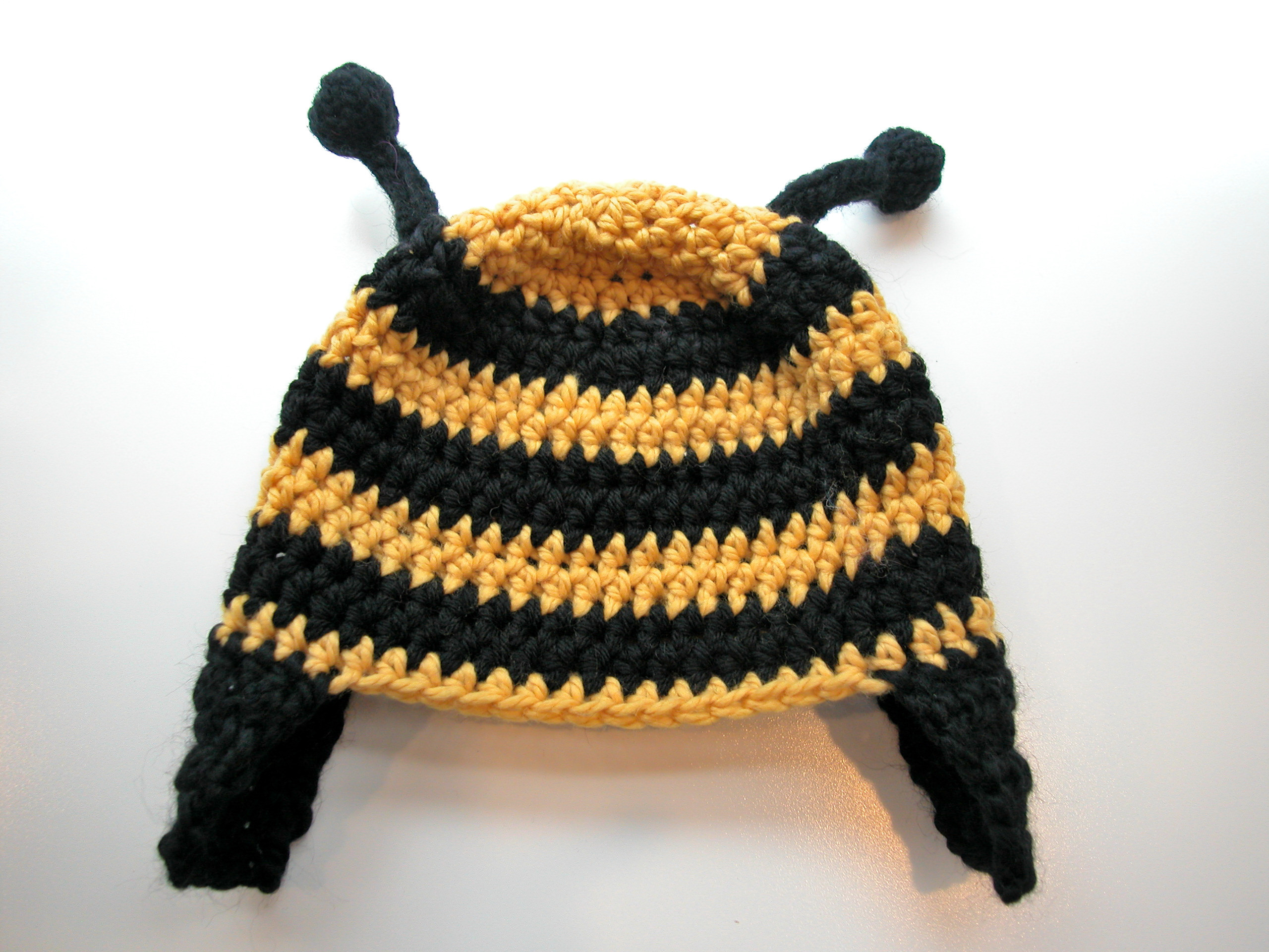 Bumble Bee Crochet Hat The Knit Cafe