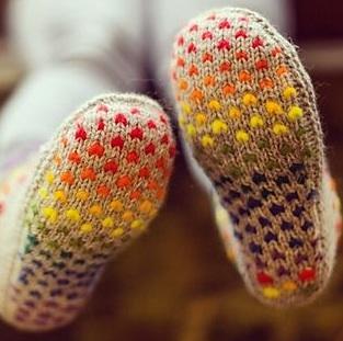 cadeautje thrum slippers