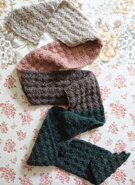 dotti crocheted scarf