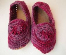crochet slipper class
