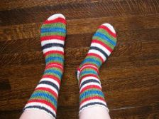 custom fit socks class