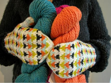 knitting in colour class