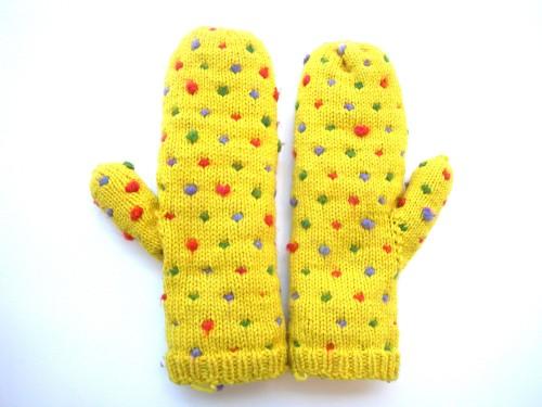 thrum mittens