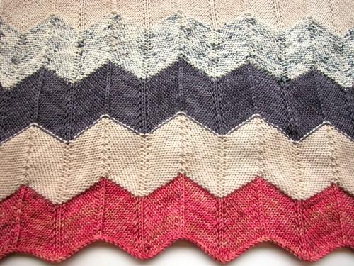 zigzag blanket