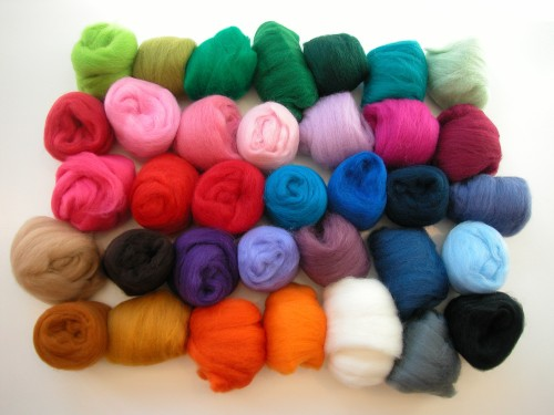 needle felting fleece