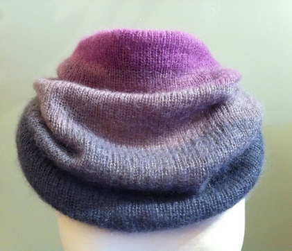 ombre cowl