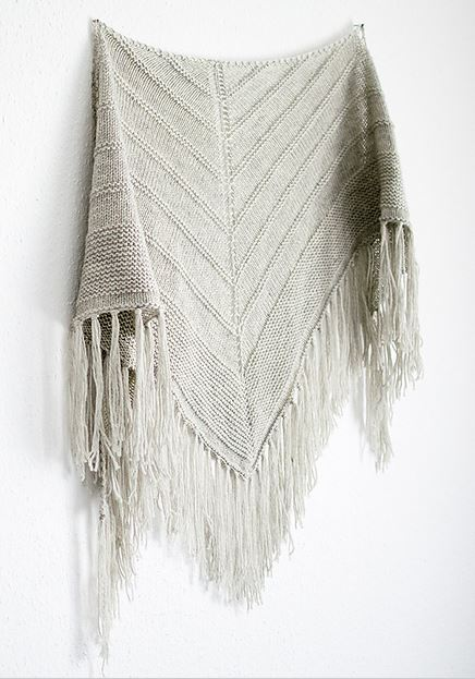 6f9a8fde73c0f6 farmhouse. I chose to feature this pretty shawl pattern first as it  showcases the latest brooklyn tweed addition to the Knit ...