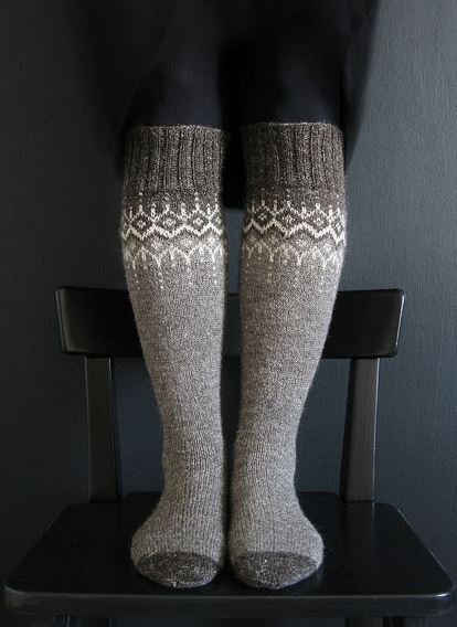 winter fantasy sock