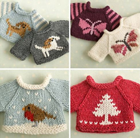 Knitting Patterns Christmas Toys : knitting patterns for Christmas gifts the knit cafe
