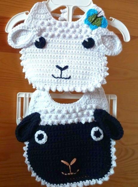 sheep bibs