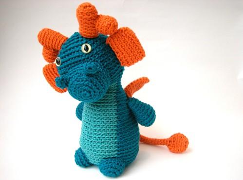 amigurumi dragon
