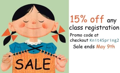 Class Sale