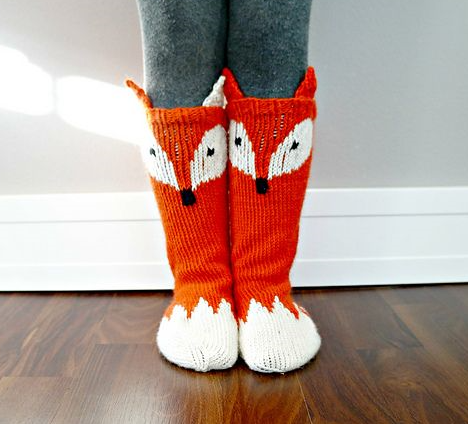 fox-slippers
