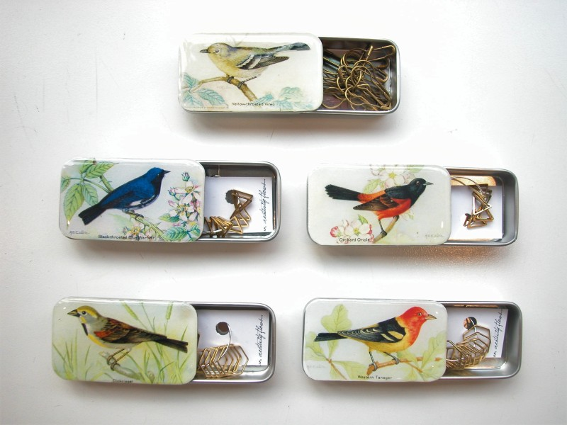 firefly tins with stitch markers