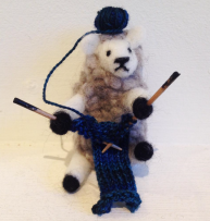 sheep-knitting