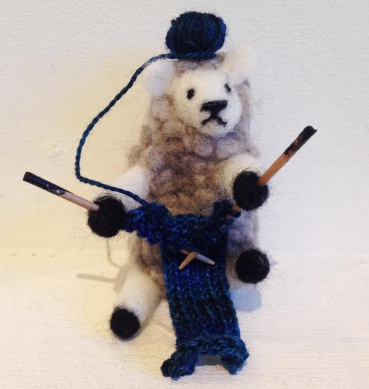 sheep-knitting