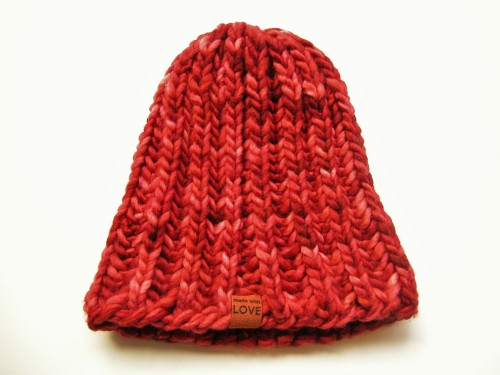 d0e66221636 The Knit Café has just released our latest knitting pattern. This toque can  be made in an evening if you are an expert