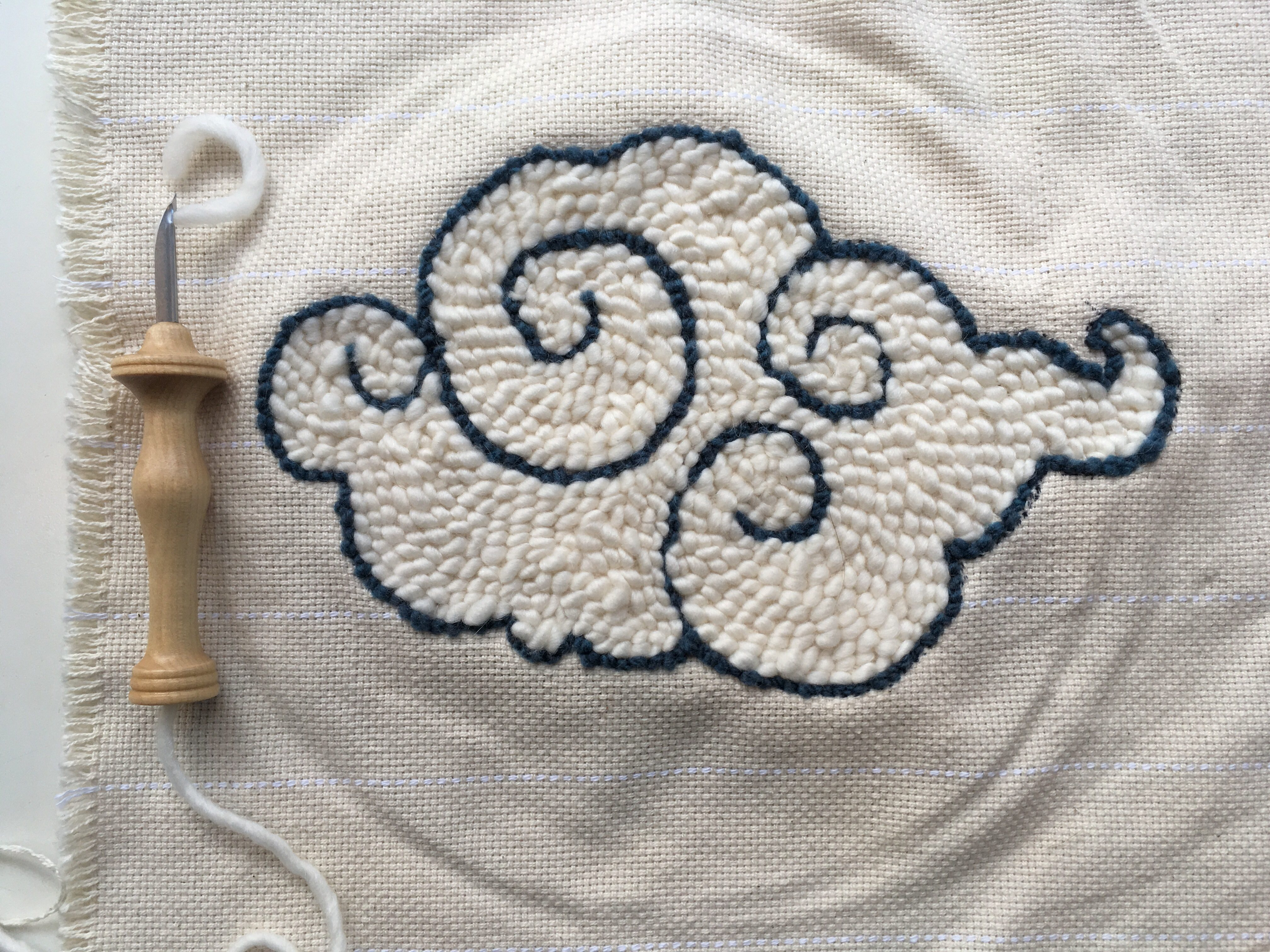 rug hooking and punch needle supplies | the knit cafe